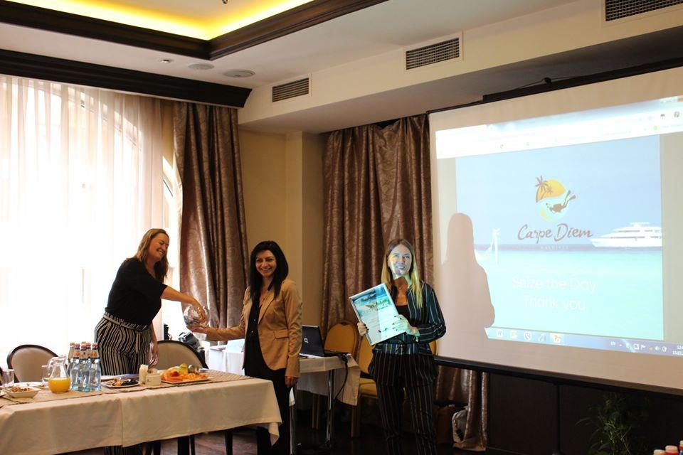 Presentation Bogema Land - representative of Inflot Maldives 2019