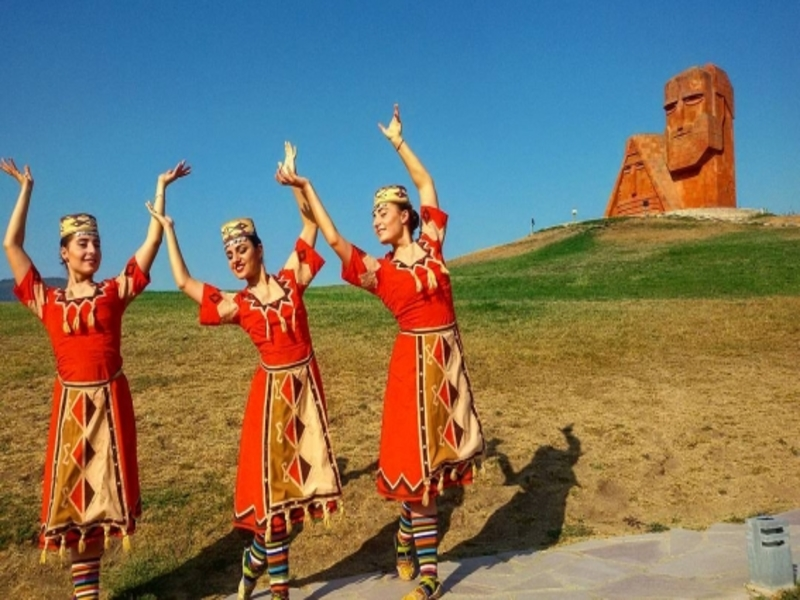 Triple holiday in Artsakh